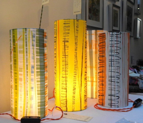 Beautiful lamps made by moth & co